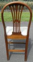 Quality Set of Six Georgian Style Dining Chairs